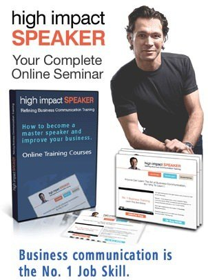 Online Training High Impact Speaker