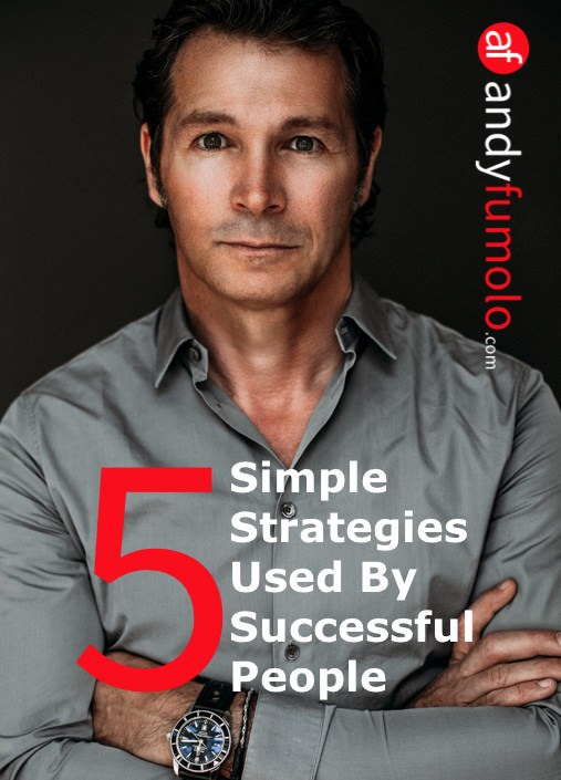 cover 5 Success Strategies by Andy Fumolo