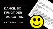 Danke Andy Fumolo Rückengymnastik Online
