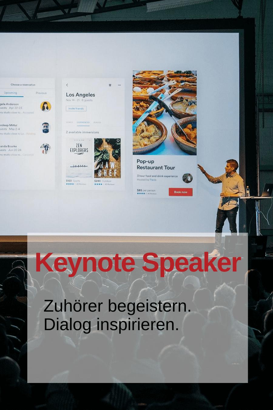 Keynote Sprecher Coaching von Andy Fumolo