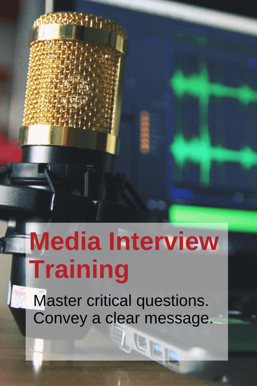 Media Interview Coaching Andy Fumolo