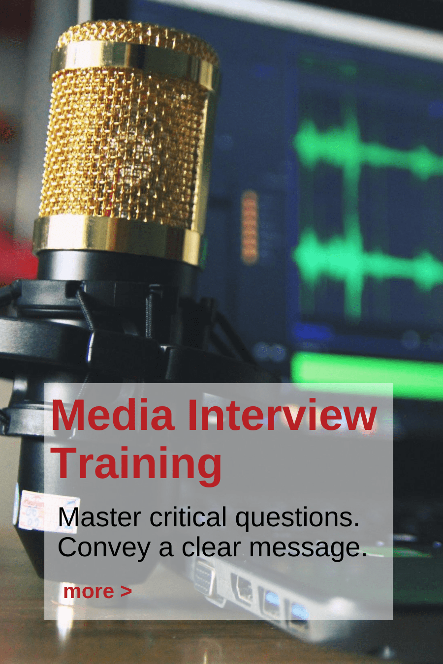 Andy Fumolo Media Interview Training
