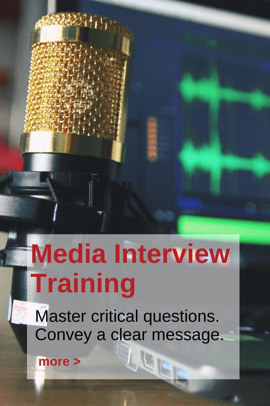 Andy Fumolo Media Interview Training